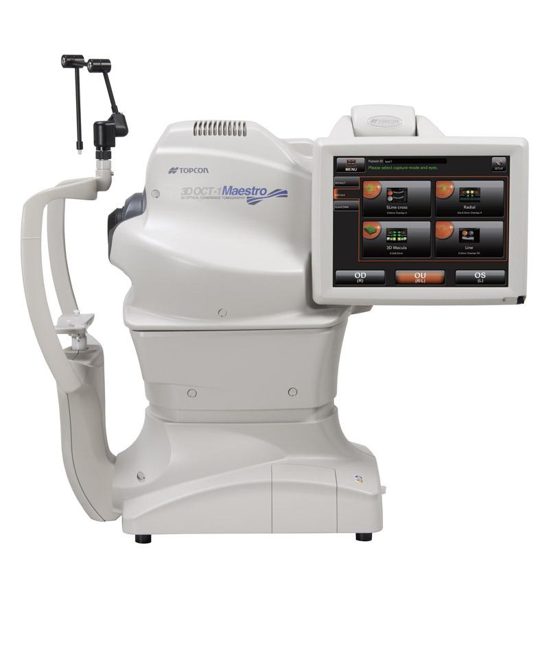 Oogzorg - Maestro 3D OCT scanner